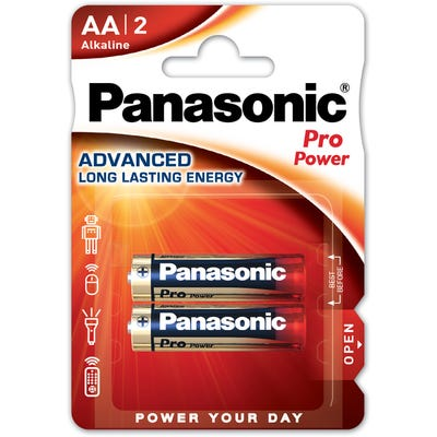 Panasonic AA 2 Pack Alkaline Battery