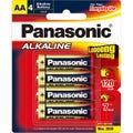 Panasonic AA 4 Pack Alkaline Battery
