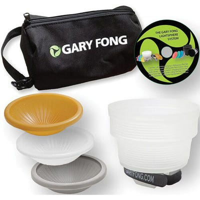 Gary Fong Lightsphere Collapsible Wedding Lighting Kit