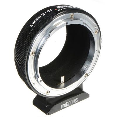 Metabones Canon FD to Sony E-Mount T Mount Adapter - (MB_FD-E-BT1)
