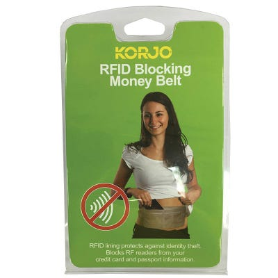 Korjo RFID Protected Money Belt