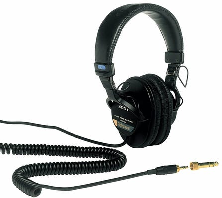 Sony MDR7506 Monitoring Headphone