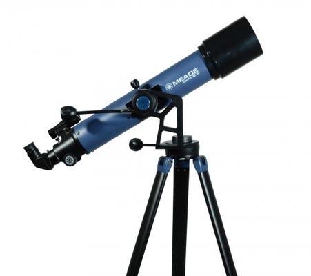 Meade StarPro 90mm Refractor Telescope includes Smartphone Adapter