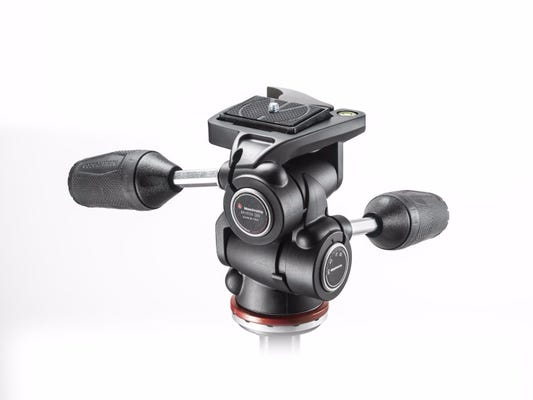 Manfrotto MH804-3W 3 Way Head with RC2 & Retractable Levers