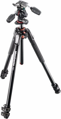 Manfrotto MK190XPRO3-3W - 3 Section Tripod Kit with 3 Way Head