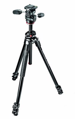 Manfrotto MK290DUA3-3W 3 Section - Tripod Kit with 3 Way Head