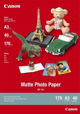Canon MP101A3 40 Sheets A3 170gsm Matte Photo Paper
