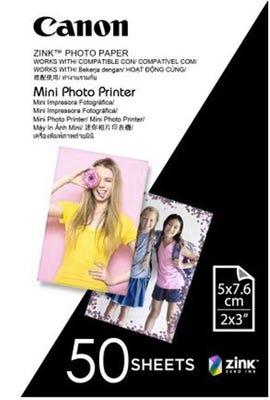 Canon Zink Mini Photo Printer Paper - 50 Sheets MP-PP50