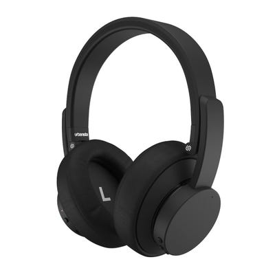 Urbanista - New York Noise Cancelling Bluetooth Headphones - Dark Clown Black