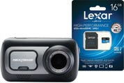 Nextbase 522GW Dash Cam w/BONUS Lexar 16GB MicroSDHC High Performance Memory Card