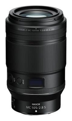 Nikon Nikkor Z 105mm Macro f/2.8 VR S Lens