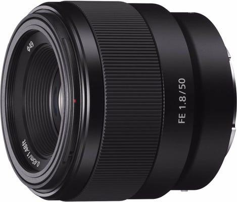 Sony 50mm f/1.8 Standard Prime Lens