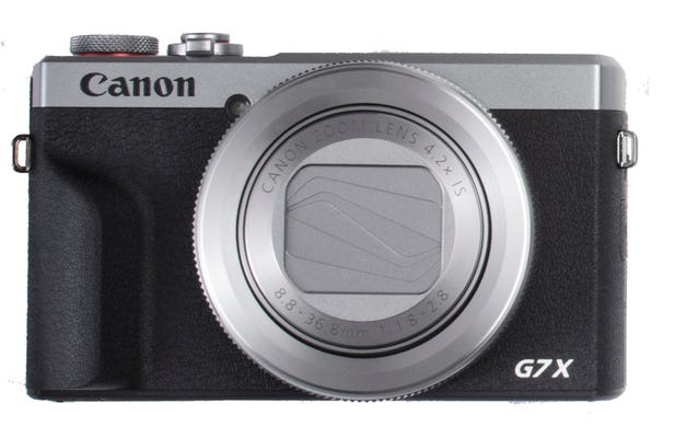 Canon PowerShot G7X Mark III Silver Digital Compact Camera