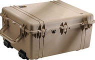 Pelican 1690 Desert Tan Transport Case with Foam