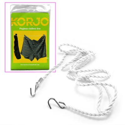 Korjo Clothes Line - Pegless