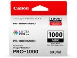 Canon PFI1000MBK Matte Black Ink Tank
