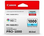 Canon PFI1000PC Photo Cyan Ink Tank