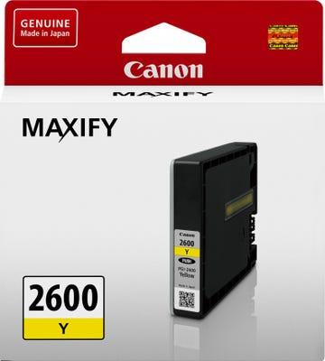 Canon PGI2600Y Yellow Ink Tank Bubble Jet Printer BJ Cartridge