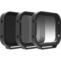 PolarPro Venture - Filter Kit 3-Pack for GoPro Hero5/6/7 Black