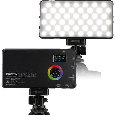 Phottix M200RGB Pocket LED Light Li-Pol PowerBank 151x80x11.5mm