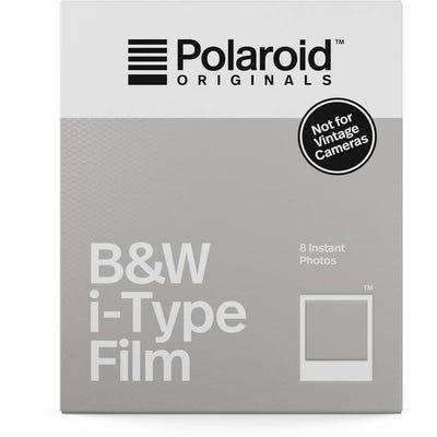Polaroid Originals i-Type Black & White - Instant Film (8 Exposures)