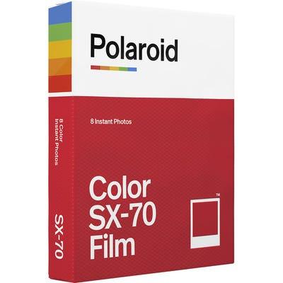 Polaroid SX-70 Colour - Instant Film (8 Exposures)