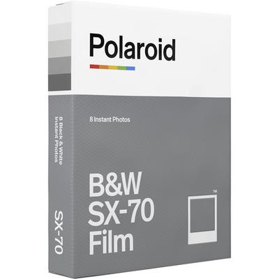 Polaroid SX-70 Black & White - Instant Film (8 Exposures)