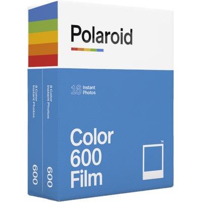 Polaroid 600 Colour - Instant Film - 2 PACK (16 Exposures)