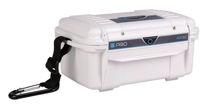 UKPro POV30 Waterproof Hard Case - White