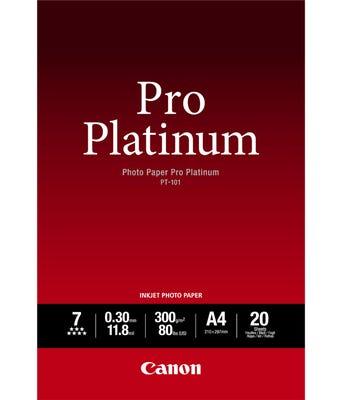 Canon 20 Sheets A2 300gsm Photo Paper Pro Platinum