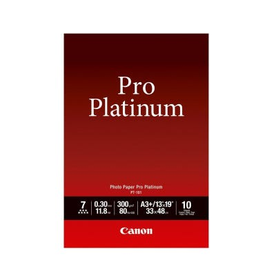 Canon Pro Platinum A3+ Photo Paper - 10 pack