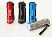 Korjo Pocket Torch -LED (Blue, Black, Red, Silver)