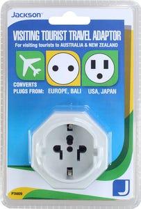Jackson Inbound USB Travel Adaptor - EU/USA - Surge Protected