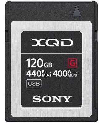 Sony XQD G Series 120GB F Memory Card