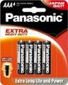 Panasonic AAA 4 Pack Extra Heavy Duty Alkaline Battery