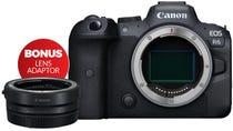 Canon EOS R6 Body with Bonus Lens Adaptor