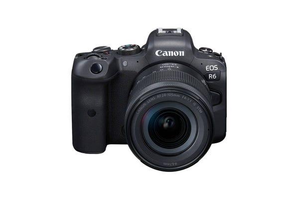 Canon EOS R6 w/ RF 24-105mm f/4-7.1 IS STM Lens Full Frame Mirrorless Camera