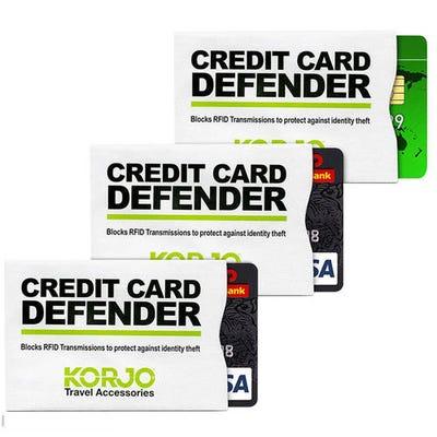 Korjo Credt Card Defender 3PK