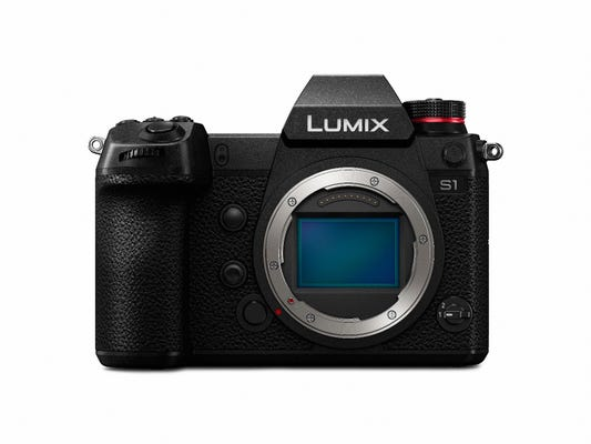 Panasonic Lumix S1 Body w/ Lumix S 24-105mm f/4 Macro OIS Lens Compact System Camera