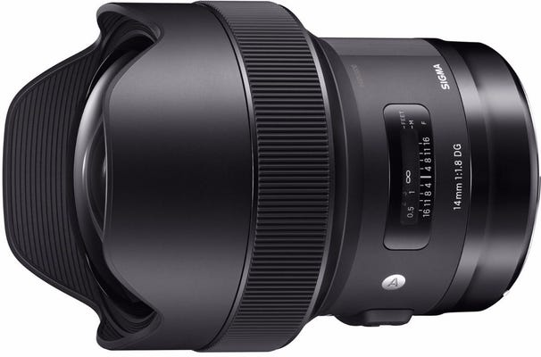 Sigma 14mm f/1.8 DG HSM Art Series Lens - Canon
