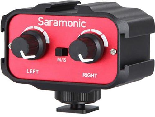 Saramonic SR-AX100 Passive 2- Channel Audio Adapter for DSLR Cameras