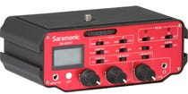 Saramonic SR-AX107 2 Channel XLR Audio Adapter with Isolation for DSLR's
