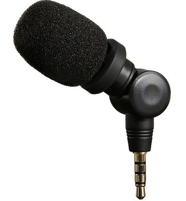 Saramonic SmartMic Condenser Microphone for iOS & Mac(3.5mm Connector)