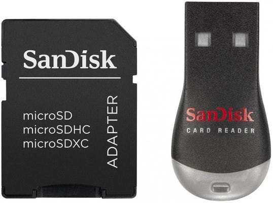 SanDisk MobileMate Duo USB 2.0 Card Reader and SD Adaptor
