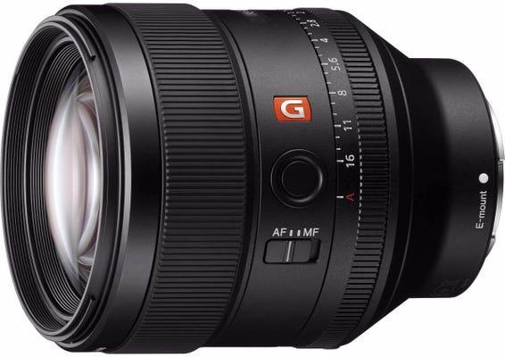 Sony E-Mount 85mm f/1.4 G-Master Mid Telephoto Lens