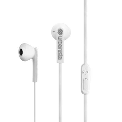 Urbanista - San Francisco In-Ear Headphones Handsfree Mic - Fluffy Cloud White