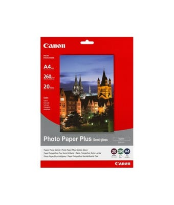 Canon SG201A4 20 Sheets, 260 gsm Semi Gloss Photo Paper