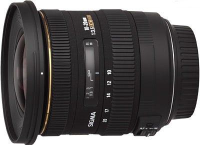 Sigma 10-20mm f/3.5 EX DC HSM Lens - Canon