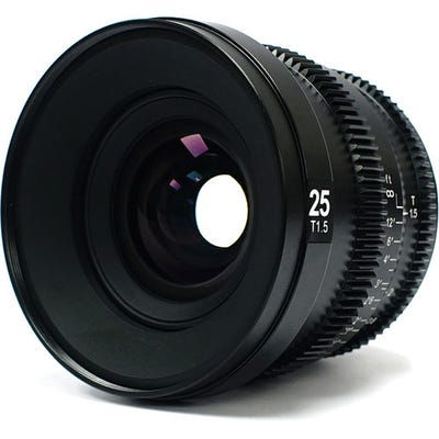 SLR Magic MicroPrime CINE 25mm T1.5 Lens - Sony E Mount