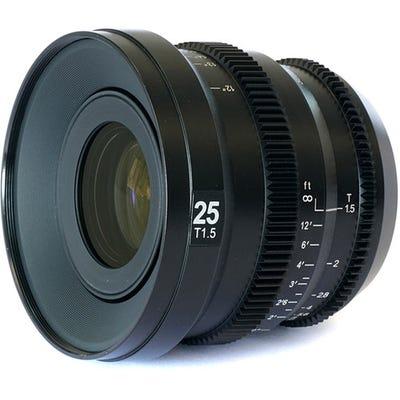SLR Magic MicroPrime CINE 25mm T1.5 Lens - MFT Mount
